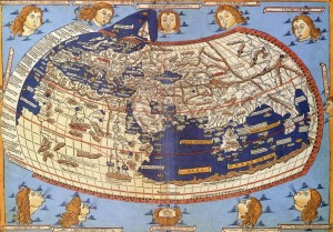 Grafika 1000 - Claudius Ptolemy : The World, 1482