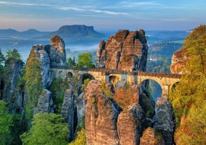 BlueBird 500 - The Bastei Bridge