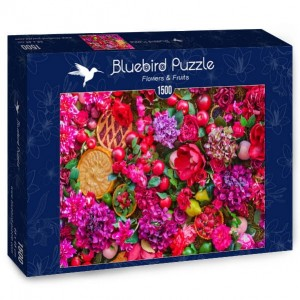 BlueBird Puzzle 1500 - Flowers & Fruits