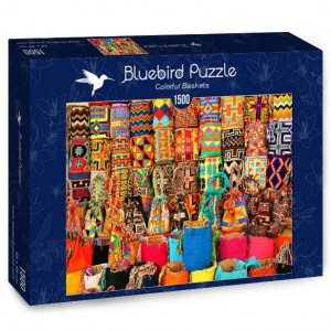 BlueBird Puzzle 1500 - Colorful Baskets