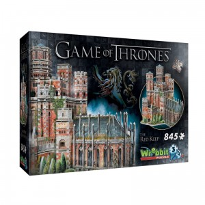 Wrebbit 3D 845 - Game of Thrones - The Red Keep