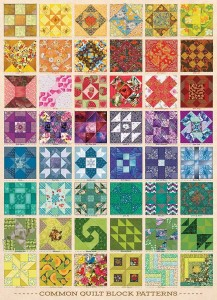 Cobble Hill 1000 - Common Quilt Blocks
