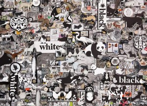 Cobble Hill 1000 - Black & White: Animals