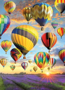 Cobble Hill 1000 - Hot Air Balloons
