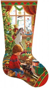 SunsOut 800 - Liz Goodrick Dillon - A Boy's Stocking