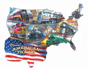 SunsOut 600 XXL - Larry Grossman - Classic American Trains