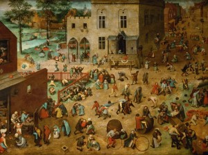 Grafika 2000 - Pieter Brueghel - Children's Games, 1560