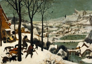 Grafika 1000 - Pieter Brueghel - Hunters in the Snow