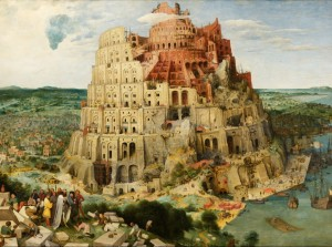 Grafika 2000 - Pieter Brueghel - Tower of Babel, 1563