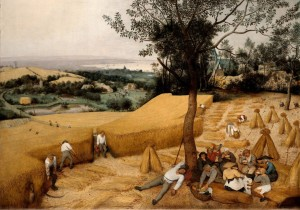 Grafika 1000 - Pieter Brueghel - The Harvesters, 1565