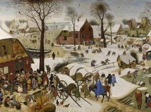 Grafika 2000 - Pieter Brueghel - Numbering at Bethlehem