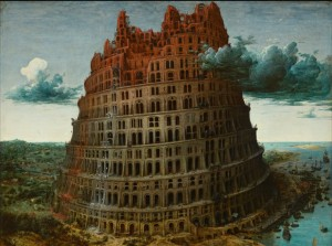 Grafika 2000 - Pieter Brueghel - The Tower of Babel