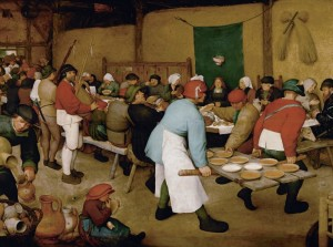 Grafika 2000 - Pieter Brueghel - Peasant Wedding, 1567-1568