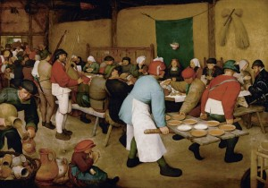 Grafika 1000 - Pieter Brueghel - Peasant Wedding, 1567-1568