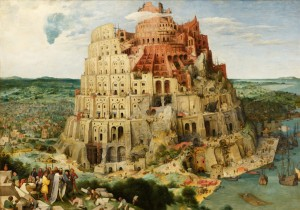 Grafika 1000 - Pieter Brueghel - Tower of Babel, 1563