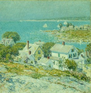 Grafika 1500 - Childe Hassam : New England Headlands, 1899