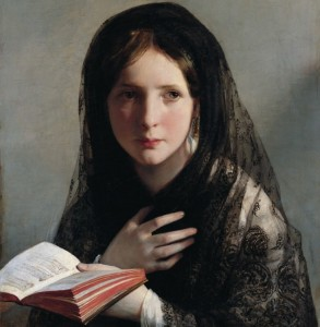 Grafika 1500 - Friedrich von Amerling : Lost in Dreams, 1835