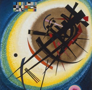 Grafika 1500 - Wassily Kandinsky : In the Bright Oval, 1925
