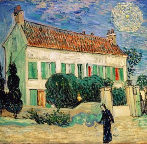 Grafika 1500 - Van Gogh Vincent: The White House, Night, 1890