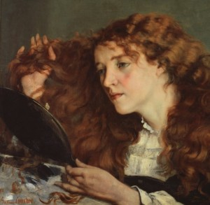 Grafika 1500 - Gustave Courbet: Jo, the Beautiful Irish Girl, 1866