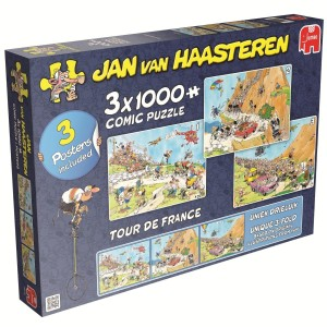 Jumbo 3 x 1000 - Jan van Haasteren - Tour de France