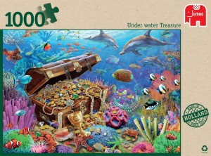Jumbo 1000 - Under Water Treasure
