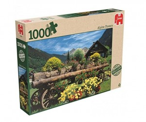 Jumbo 1000 - Alpine Flowers