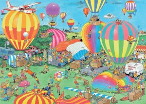 Jumbo 1000 - Jan van Haasteren - The Balloon Festival