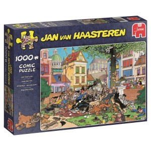 Jumbo 1000 - Jan van Haasteren - Get that Cat!