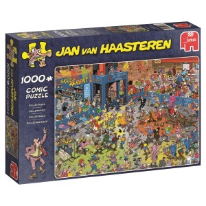 Jumbo 1000 - Jan van Haasteren - The Roller Disco