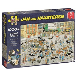 Jumbo 1000 - Jan van Haasteren - The Cattle Market