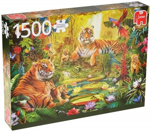 Jumbo 1500 - Tiger Family in the jungle