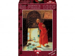Art Puzzle 1000 - Osman Hamdi Bey: The Turtle Trainer