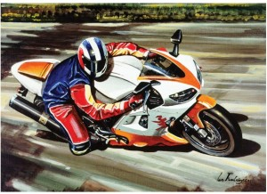 Art Puzzle 500 - Racing Motorcycle