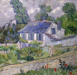 Grafika 1500 - Vincent Van Gogh : House in Auvers, 1890