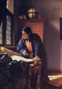 Grafika 1000 - Vermeer Johannes: The Geographer, 1668-1669