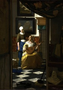 Grafika 1000 - Vermeer Johannes: The Loveletter, 1669-1670