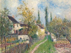 Grafika 2000 - Alfred Sisley: A Path to the Sablons, 1883