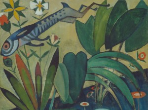 Grafika 2000 - Amadeo de Souza-Cardoso: Jumping Rabbit, 1911