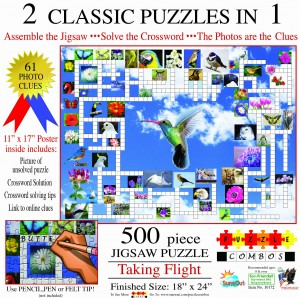 SunsOut 500 - Irv Brechner - Puzzle Combo: Taking Flight
