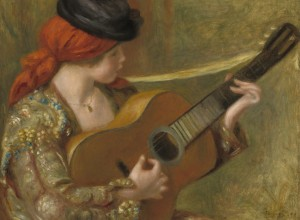 Grafika 2000 - Auguste Renoir - Young Spanish Woman with a Guitar