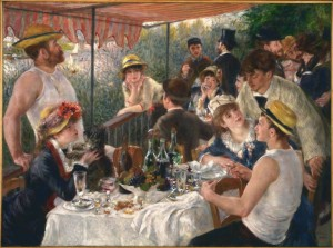 Grafika 2000 - Auguste Renoir : Luncheon of the Boating Party, 1881