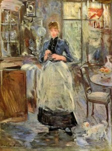 Grafika 2000 - Berthe Morisot: In the Dining Room, 1875
