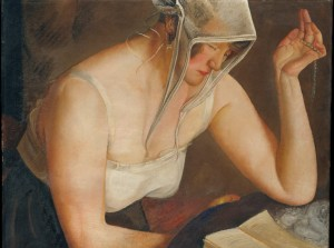 Grafika 2000 - Boris Grigoriev: The Reader, 1922