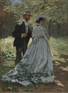 Grafika 2000 - Claude Monet - Bazille and Camille, 1865