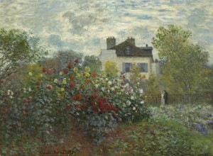 Grafika 2000 - Claude Monet - The Artist's Garden in Argenteuil, 1873