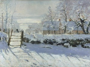 Grafika 2000 - Claude Monet : The Magpie, 1868-1869