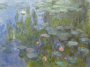 Grafika 2000 - Claude Monet: Nympheas, 1915