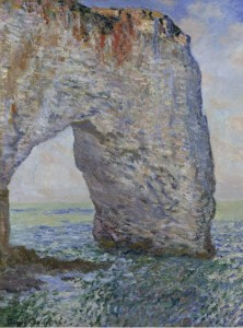 Grafika 2000 - Claude Monet: The Manneporte at Étretat, 1886