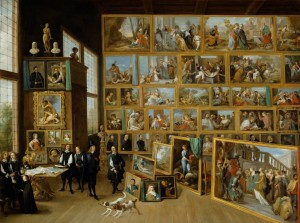 Grafika 2000 - David Teniers:  	The Art Collection of Archduke Leopold Wilhelm in Brussels.